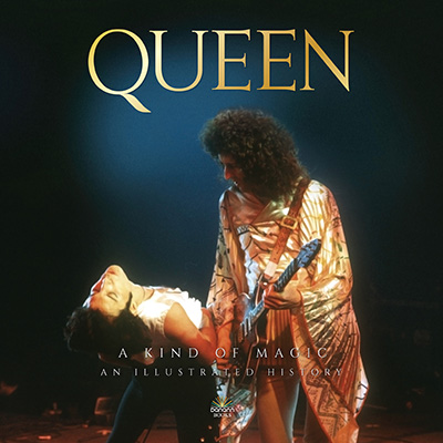Queen, A kind of Magic hardback book