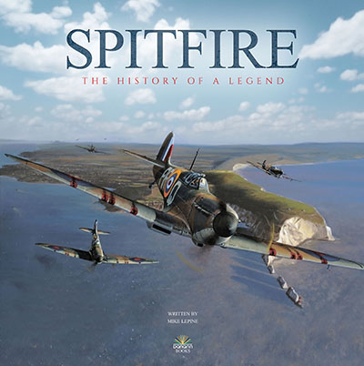 Spitfire History hardback book Danann Publishing