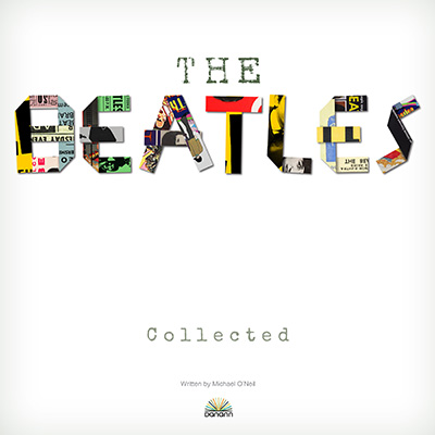 The Beatles collected hardback book