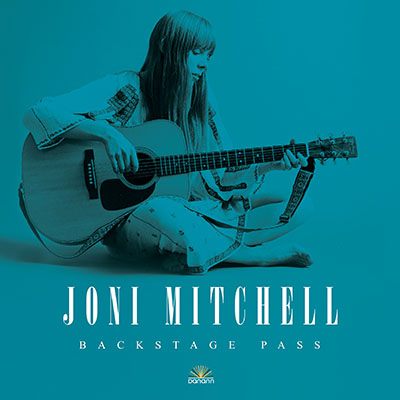Joni Mitchell Backstage pass book