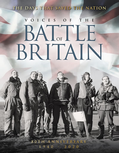 Voices of the Battle of Britain book